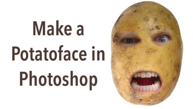 Make a Potato Face in Photoshop by Roberis