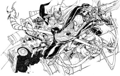 SINISTER SIX_commission by EricCanete