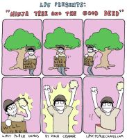 Ninja Tree and the Good Deed by Exzachly