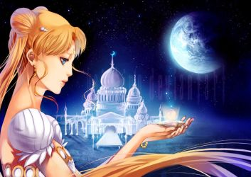 princess serenity by yaichino