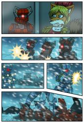 Chronicles of Polaris Comic Page 5 PREVIEW by MikeOrion