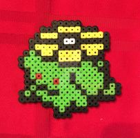 Pokemon Skiploom Perler Bead Deco