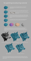 Fur Painting/Recolouring Tutorial by nettlebird