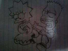 Bart Simpson tickled by PetoriaResident