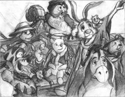 Winnie the Pooh- Beyond the Hundred-Acre Woods by TheLivingShadow
