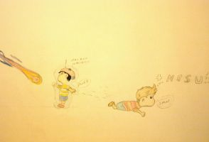 ness likes lucas really by nesslauncher1