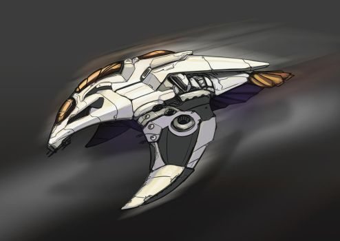 Commission | ME Fanfic Ship Design by N-Deed