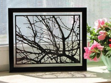 Tree Branches Handmade Original Papercut by DreamPapercut