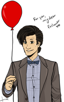 11th doctor by gryphonslade