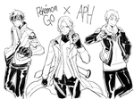 Pokemon Go x APH by Cioccolatodorima