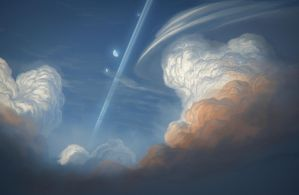 Path in the sky 1 by JustV23