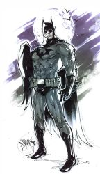MkvsDC. Batman by Fezat1