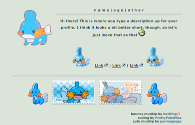 Custom Mudkip Box Code F2U - Non - Core by CocoKinzCodes