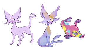 Purple Pokemons