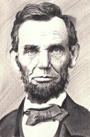 Lincoln Portrait by reesmeister