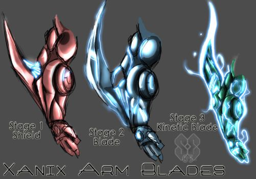 Xanix Arm Blades by Nek0gami