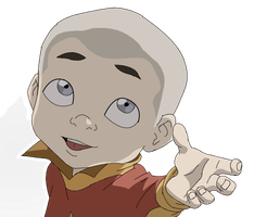 Meelo - Can I have some of your hair? by luvLegendofKorra