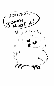 Hooters Gonna Hoot It! by HoremWeb