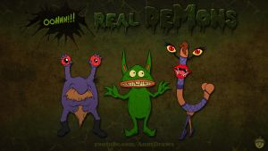 Oohhh!!! Real Demons by AnutDraws