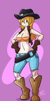 Cowgirl Commission by FBende