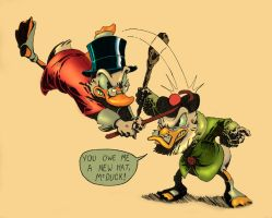 Scrooge in Color by mallaard