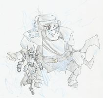 WH40k: Corsair and Freebooter by Drawbba-The-Hutt