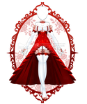 Embellish Red Roses Outfit R274 (SOLD) by RumCandyAdopt
