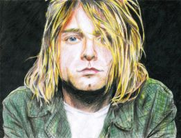 Kurt Cobain by gnorw