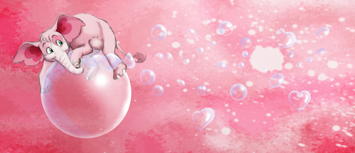 Pink Bubbles by Earthsong9405