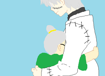 Stein and OC by SilverGirlXO