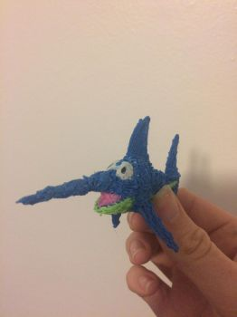 Enguarde The Sword Fish drawn with 3D Pen 1 by SuperTailsHero