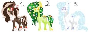 #4 Point Adoptables - Christmas[CLOSED] by AdaKola