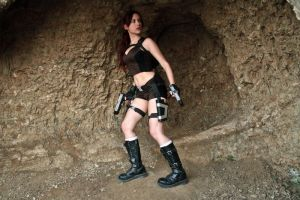Lara Croft Underworld - cave exploring by TanyaCroft