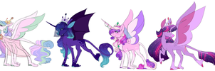 Princess Headcanons by uunicornicc