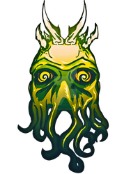 King Cthulhu Tee by ReverendRyu