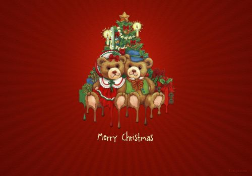Christmas Wall Paper by lillan