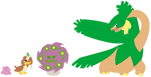 Ditto, Farfetch'd, Spiritomb and Tropius Base