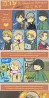 Character Obsession Meme by headbutt-of-love