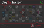 Simpline Icon Set - Adobe Expansion by dAKirby309