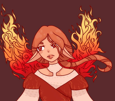 Fire Fae by ReReStar1090
