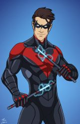 Nightwing (E27 edit) 02 by phil-cho
