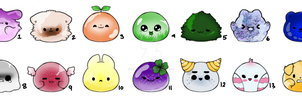 Blob adopts (2/14 Open) (UPDATED) by seafoam07