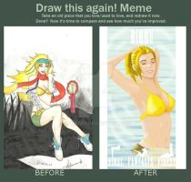 Draw Again Meme by mwisbey