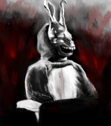Frank the Bunny Re-Paint by thelonelyisland