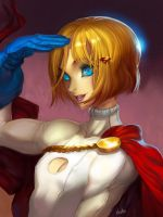 Two Dee Powergirl by elsevilla