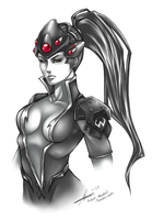 Widowmaker - Overwatch by Silent-Neutral