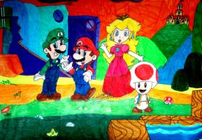 TAOSMB3 - Nintendo style. by paratroopaCx