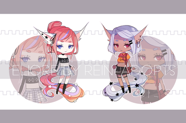 [CS ELIORE KEMONOMIMI:] Prepsters [CLOSED] by rein-adopts