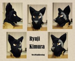 Ryuji Fursuit Commission by WestWindHowling