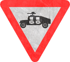Yield to Military Vehicles by MouseDenton